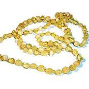 "Украшения handmade. Livemaster - original item Amber necklace bracelet ""Tenderness"" from natural amber stones. Handmade."