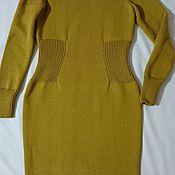"""Одежда ручной работы. Ярмарка Мастеров - ручная работа Платье """"горчица"""". Handmade."""