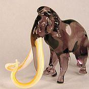 Для дома и интерьера handmade. Livemaster - original item Glass figurine glass Mammoth Uu obua. Handmade.