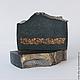 Мыло угольное `Аntique Black`, натуральное мыло с нуля