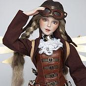 Шарнирная кукла ручной работы. Ярмарка Мастеров - ручная работа Шарнирная фарфоровая кукла Скаут Бэкки. Продана. Handmade.