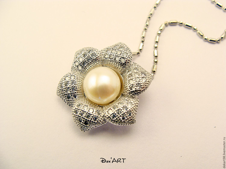 The basis for silver plated Art pendant. OKL92509, Pendants, Irkutsk,  Фото №1
