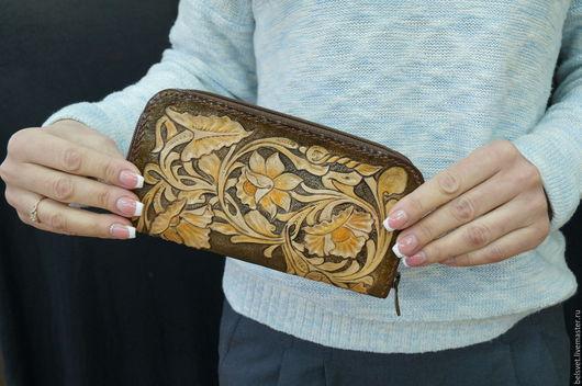кошелек женский, клатч женский, сумка женская, подарок именной, кошелек с инициалами, персональный подарок, кошелек из кожи, кошелек на молнии женский, подарок женщине, кошелек с тиснением, сумка кожа