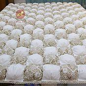 Одеяла ручной работы. Ярмарка Мастеров - ручная работа Одеяло-покрывало бомбон. Handmade.
