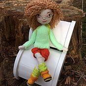 Куклы и игрушки ручной работы. Ярмарка Мастеров - ручная работа Каркасная кукла, связанная крючком. Handmade.