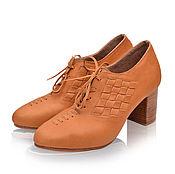 Обувь ручной работы. Ярмарка Мастеров - ручная работа Palmarosa. Оксфорды в стиле ретро.. Handmade.