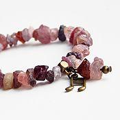 Украшения handmade. Livemaster - original item The bracelet is made of spinel. Handmade.