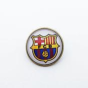 Украшения handmade. Livemaster - original item Badge of FC Barcelona. Handmade.
