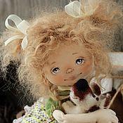 Куклы и игрушки ручной работы. Ярмарка Мастеров - ручная работа Юлька и ее Полкан. Handmade.