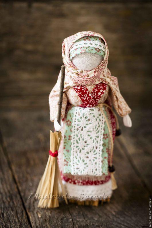 Народные куклы ручной работы. Ярмарка Мастеров - ручная работа. Купить Народная кукла - оберег Метлушка. Handmade. Комбинированный