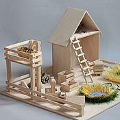 Кукольные домики ручной работы. Ярмарка Мастеров - ручная работа Игровая ферма.. Handmade.