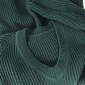 Одежда handmade. Livemaster - original item Jumpers: Large knit jumper with decorative Raglan. Handmade.