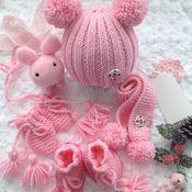 """Одежда для кукол ручной работы. Ярмарка Мастеров - ручная работа Комплект для куклы """"Розовый"""". Handmade."""