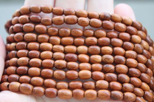 Для украшений ручной работы. Ярмарка Мастеров - ручная работа. Купить Байонг, овальные бусины, рис  6 мм. Handmade.