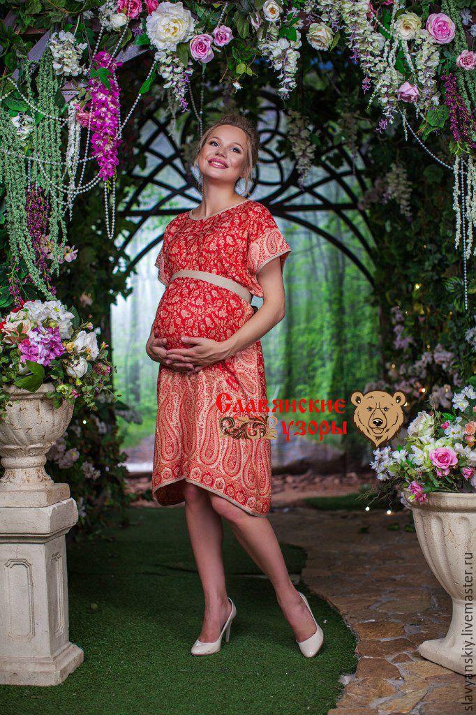 5efc8e8e0841 Для будущих и молодых мам ручной работы. Ярмарка Мастеров - ручная работа. Купить  Платье ...