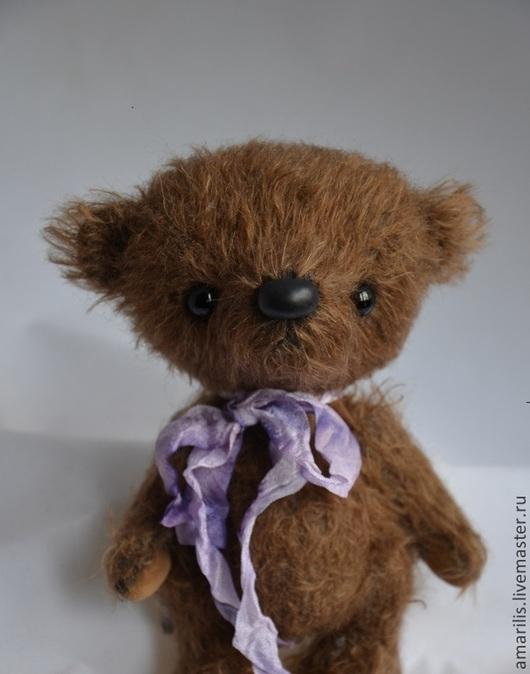 Мишки Тедди ручной работы. Ярмарка Мастеров - ручная работа. Купить Ангелочек. Handmade. Коричневый, мишка в подарок, хлопок 100%