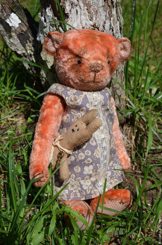 Мишки Тедди ручной работы. Ярмарка Мастеров - ручная работа. Купить Клавочка. Handmade. Мишки тедди, мишка девочка