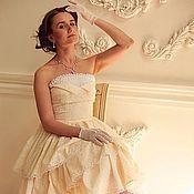 """Платья ручной работы. Ярмарка Мастеров - ручная работа Вечернее платье с пышной юбкой """"Ванильное облако"""". Handmade."""