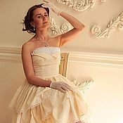 Одежда handmade. Livemaster - original item Evening dress with full skirt