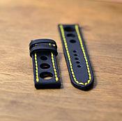 Аксессуары ручной работы. Ярмарка Мастеров - ручная работа Ремешок для часов. Leather watch strap. Handmade.