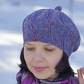 Berets handmade. Livemaster - original item Women`s hat beret for spring knitted elegant Spring. Handmade.