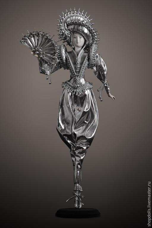 Коллекционные куклы ручной работы. Ярмарка Мастеров - ручная работа. Купить Кукла принц серебряный. Handmade. Серебряный, принц