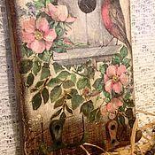 """Для дома и интерьера ручной работы. Ярмарка Мастеров - ручная работа Ключница """"Семейное гнёздышко"""". Handmade."""