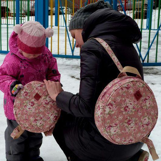 """Рюкзаки ручной работы. Ярмарка Мастеров - ручная работа. Купить Рюкзак """"Нежность"""" Детский. Handmade. Рюкзак, рюкзак для девушки"""