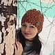 """Шапки ручной работы. Ярмарка Мастеров - ручная работа. Купить шапка """"Листопад"""" (новая весенняя коллекция). Handmade. В полоску"""