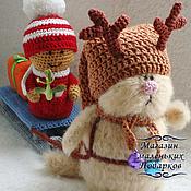 Куклы и игрушки ручной работы. Ярмарка Мастеров - ручная работа помощники Санты. Handmade.