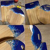 Доски ручной работы. Ярмарка Мастеров - ручная работа Доски: срез камня. Handmade.