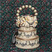 Винтаж ручной работы. Ярмарка Мастеров - ручная работа Сумочка Mary Frances. Handmade.