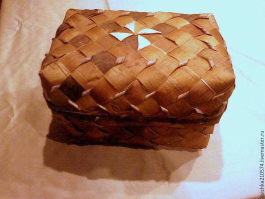 Кухня ручной работы. Ярмарка Мастеров - ручная работа. Купить Хлебница плетёная (стандарт). Handmade. Бежевый, берестяная хлебница, сувенир