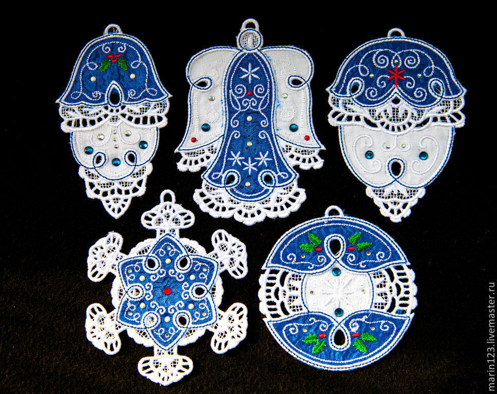 Lazur. A set of Christmas ornaments, Christmas decorations, Samara,  Фото №1
