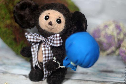 Мишки Тедди ручной работы. Ярмарка Мастеров - ручная работа. Купить Чебурашка тедди. Handmade. Коричневый, мишки ручной работы