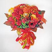 """Цветы и флористика ручной работы. Ярмарка Мастеров - ручная работа Букет из конфет """"Рябинка сладкая"""". Handmade."""