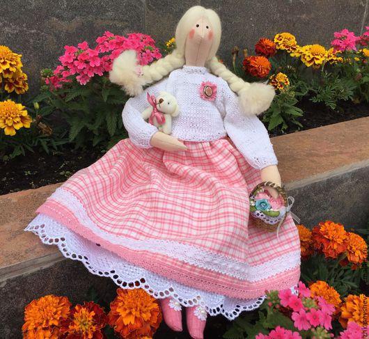 Маргарет. Цветочная феечка. Кукла Тильда.