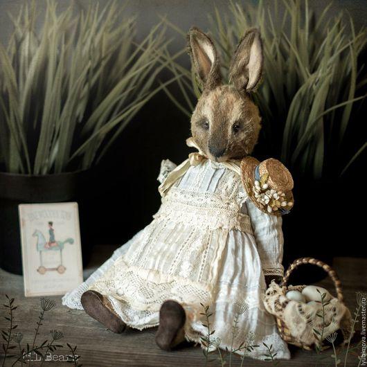 Мишки Тедди ручной работы. Ярмарка Мастеров - ручная работа. Купить Rabbit Miss Mary. Handmade. Комбинированный, bunny