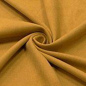 Замша ручной работы. Ярмарка Мастеров - ручная работа Ткань замша искусственная горчица , Италия. Handmade.