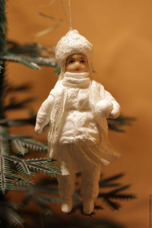 Коллекционные куклы ручной работы. Ярмарка Мастеров - ручная работа. Купить Игрушки из ваты. Handmade. Белый, подарок на день рождения