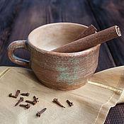 """Для дома и интерьера ручной работы. Ярмарка Мастеров - ручная работа Чашка глиняная """"Тепло Земли"""", керамика. Handmade."""