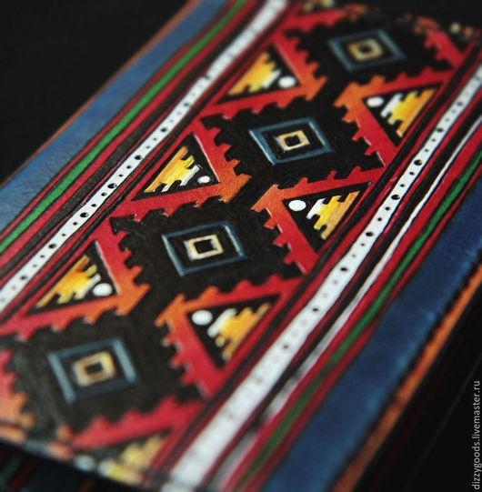 Обложки ручной работы. Ярмарка Мастеров - ручная работа. Купить Обложка для паспорта Зарево. Handmade. Комбинированный, рисунок, подарок