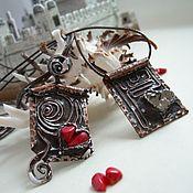 Украшения handmade. Livemaster - original item Pair pendants