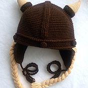 """Работы для детей, ручной работы. Ярмарка Мастеров - ручная работа Шапка""""шлем Викинга"""". Handmade."""