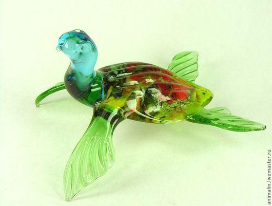 Статуэтки ручной работы. Ярмарка Мастеров - ручная работа. Купить фигурка из стекла  Великая Морская Черепаха. Handmade. Черепаха, стекло