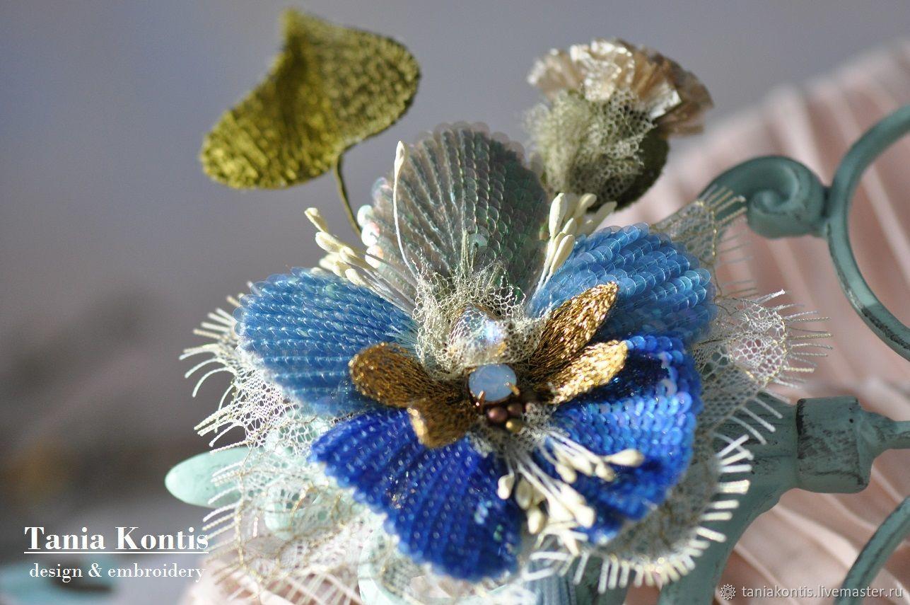 Brooch ' Spring fleur', Brooches, Tver,  Фото №1
