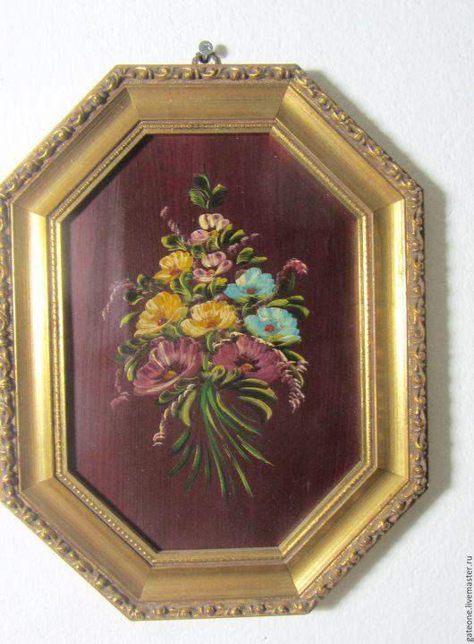 Пейзаж ручной работы. Ярмарка Мастеров - ручная работа. Купить Картины маслом  в изумительных золотых  рамах барокко. Handmade. Комбинированный