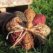 Для дома и интерьера ручной работы. Ярмарка Мастеров - ручная работа Текстильная тыква винтажная. Handmade.