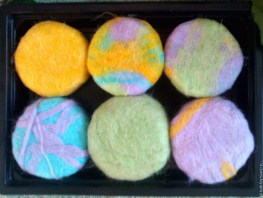 Мыло-мочалка ручной работы. Ярмарка Мастеров - ручная работа. Купить Радужные мочалочки. Handmade. Комбинированный, подарочный набор