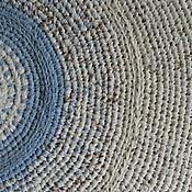 """Для дома и интерьера ручной работы. Ярмарка Мастеров - ручная работа Текстильный вязаный коврик  """"Степь"""". Handmade."""